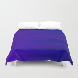 Ultra Violet to Indigo Blue Ombre Duvet Cover