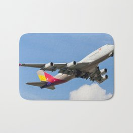 Asiana Airlines Cargo Bath Mat