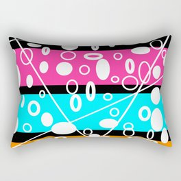 Get your GLO on! Rectangular Pillow