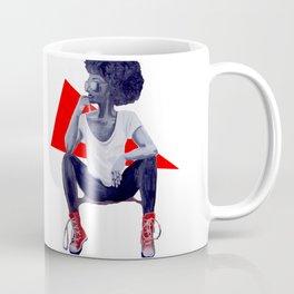 Red Kicks Coffee Mug