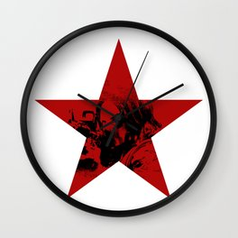 Winter Soldier Star Wall Clock