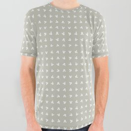 WISE BUTTERFLY All Over Graphic Tee