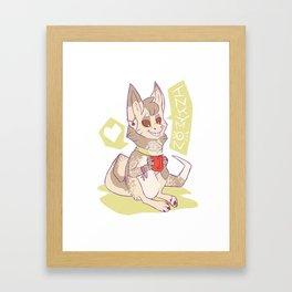 Tea love Framed Art Print