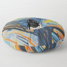 The Scream Floor Pillow