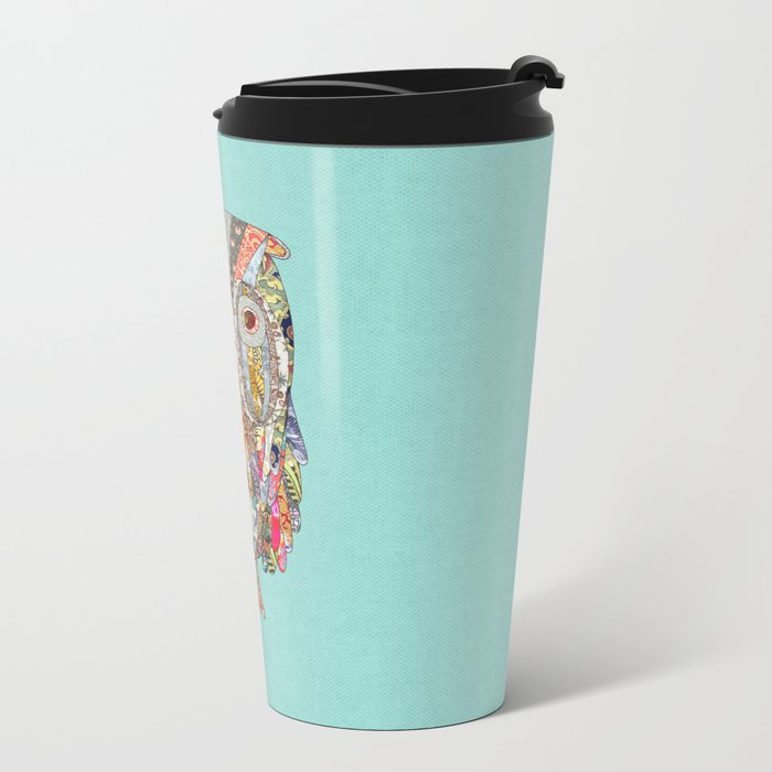I CAN SEE IN THE DARK Metal Travel Mug