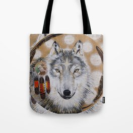 Wolf Star Tote Bag