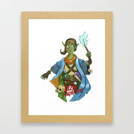 Glen the Magnificent Framed Art Print