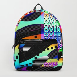 Overthink Poster Backpack