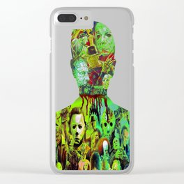 Have Alittle Horror In You? Clear iPhone Case