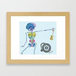 Ukulele Baby Framed Art Print