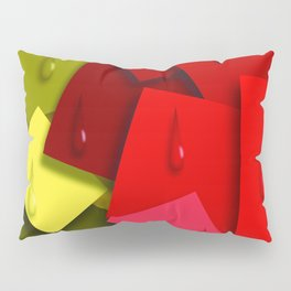 Squares and Tears Pillow Sham