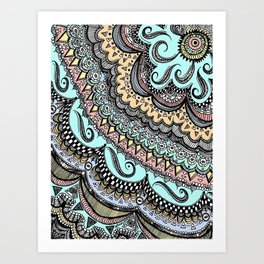 Blackbook No. 3 (Color) Art Print