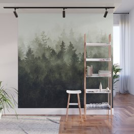 The Heart Of My Heart // Green Mountain Edit Wall Mural