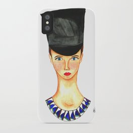 Soldier Girl iPhone Case