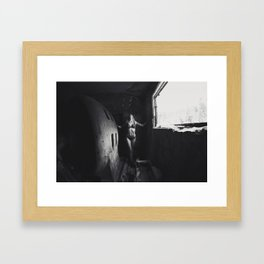 Shadows of the Past Framed Art Print