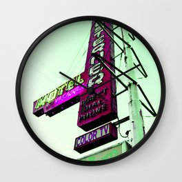 Hotel Motel Wall Clock