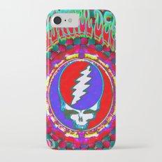 Grateful Dead #10 Optical Illusion Psychedelic Design Slim Case iPhone 7