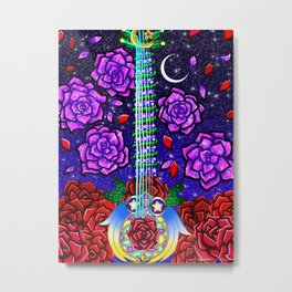 Fusion Keyblade Guitar #55 - Divine Rose & Star Seeker Metal Print