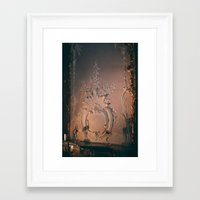 baroque Framed Art Prints featuring Baroque by Moriarty
