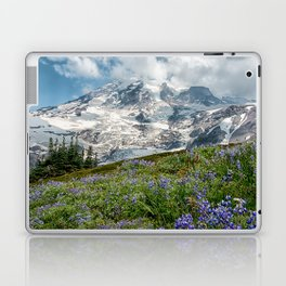 Scenic Landscape Art, Mt. Rainier, Mt. Rainier National Park, Paradise Laptop & iPad Skin