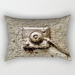 Vintage Doorbell Rectangular Pillow