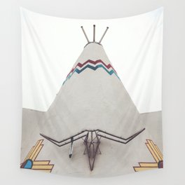 Tucumcari Curiosities Wall Tapestry