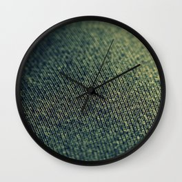 Demin Wall Clock