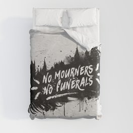 No Mourners No Funerals Duvet Cover