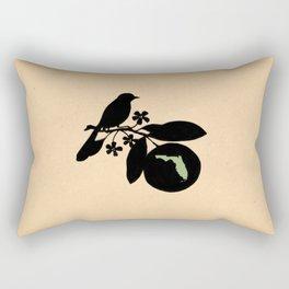 Florida - State Papercut Print Rectangular Pillow