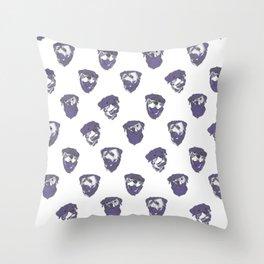 U L T R A \\ V I O L E T . rottweiler . Throw Pillow