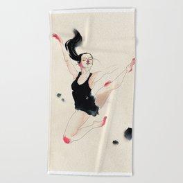 Dancer Beach Towel