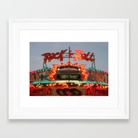 rock and roll Framed Art Prints featuring Rock & Roll by Paul Hopkins
