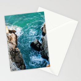 Ocean falaise 5 Stationery Cards