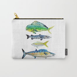 Caribbean Fish Carry-All Pouch