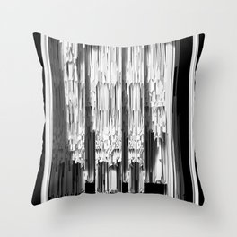 SPIKE INTERIOR SECTION Throw Pillow