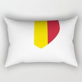 Grimbergen, Belgium - Belgian Belgique Shirt Rectangular Pillow