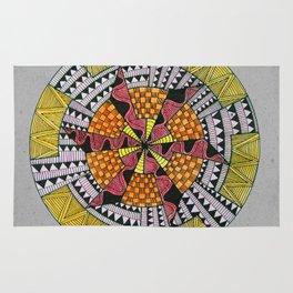 Five Zentan Circle Rug