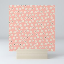 Daisies field Mini Art Print