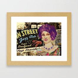 BB Jazz Stop  Framed Art Print