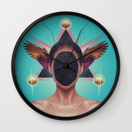 in·no·cence Wall Clock