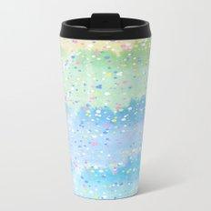 Spring Splatter Metal Travel Mug