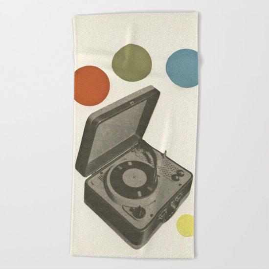 Pop Music Beach Towel