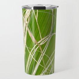 Palm Fan Art Travel Mug