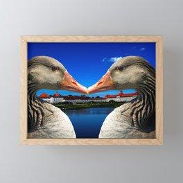 Munich in love Framed Mini Art Print