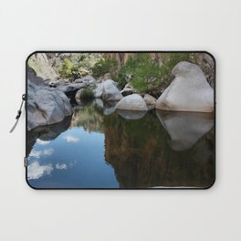 Mirror of time Laptop Sleeve