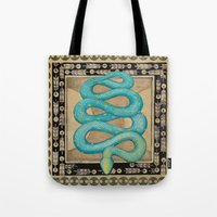 alchemy Tote Bags featuring Alchemy by Sophia F Gibson