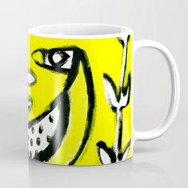 Sunlit Mid-Century Bird Coffee Mug