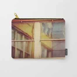 Yellow Window Carry-All Pouch