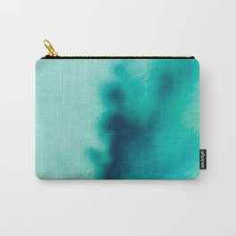 Mint into Teal Carry-All Pouch