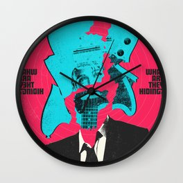 Under the Silver Lake Wall Clock